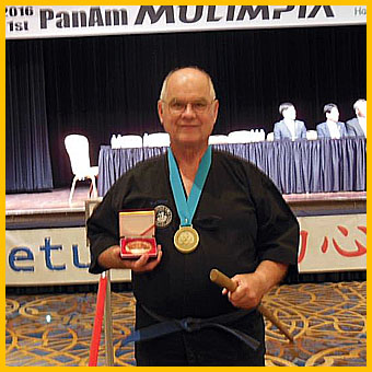 "Master Carl Wilson Medals in Gumdo ""Korean Sword"